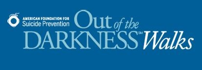 out of the darkness walks logo